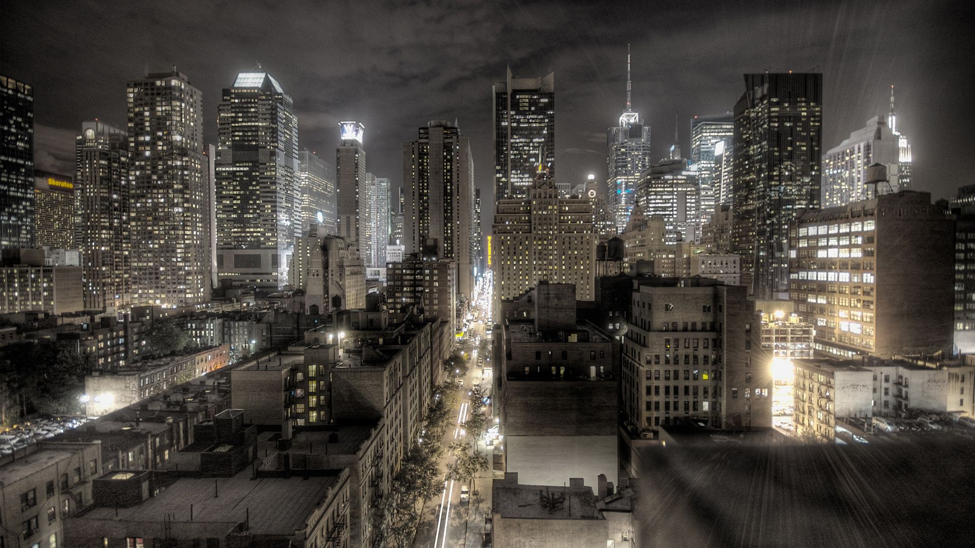 21+ Widescreen New York City Skyline Wallpaper PNG